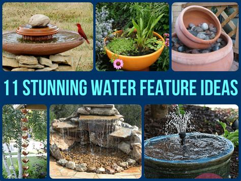 garden water features ideas 11 stunning water feature ideas