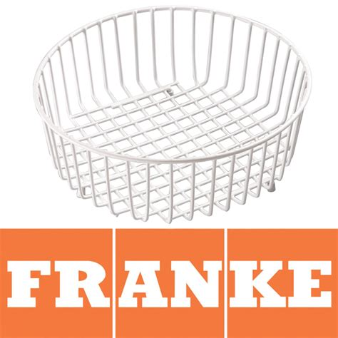 franke stainless steel sink drainer basket 112 0050 254