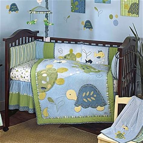 jcpenney crib bedding bedding set turtle reef 6 piece jcpenney nursery