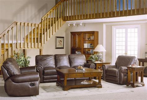 country style sofa sets country style brown leather sofa set with sofa loveseat