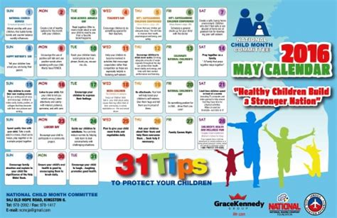 theme for education month child month 2016 healthy children build a stronger a