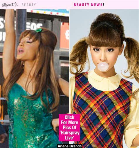 Hairspray Hairstyles by Pics Grande S Hairspray Live Hairstyles See