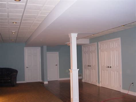 drop ceiling for basement i wood interiors