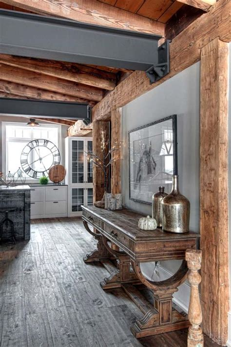 ideas  contemporary rustic decor  pinterest
