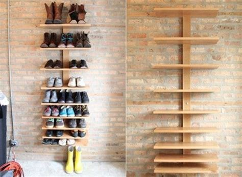 Shoe Cabinet Wall Mounted by Design Ideas Shoe Storage Ideas Utilizing Wooden