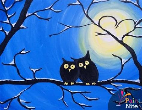paint nite owl paint nite at the plattduetsche
