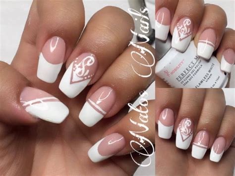 Imagenes De Tipos De Uñas Acrilicas | u 241 as acrilicas 5 tipos de french natos nails youtube