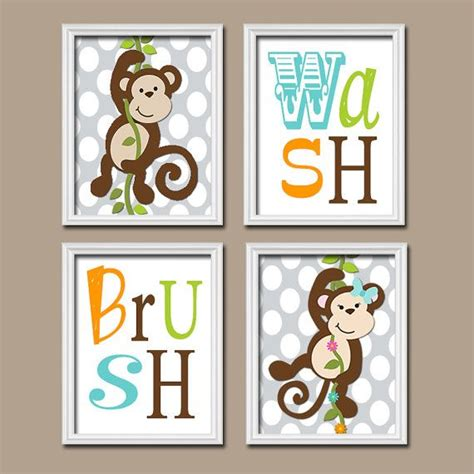 Monkey Bathroom Decor by 17 Best Ideas About Monkey Bathroom On Baby