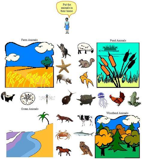 printable animal habitats animal habitat activities printables common core lesson