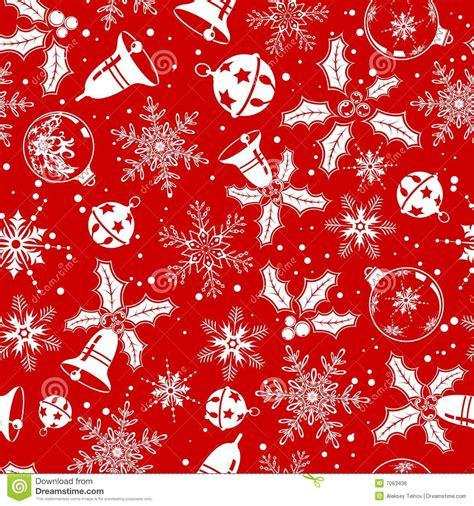 seamless christmas pattern vector christmas seamless background stock vector image 7063436