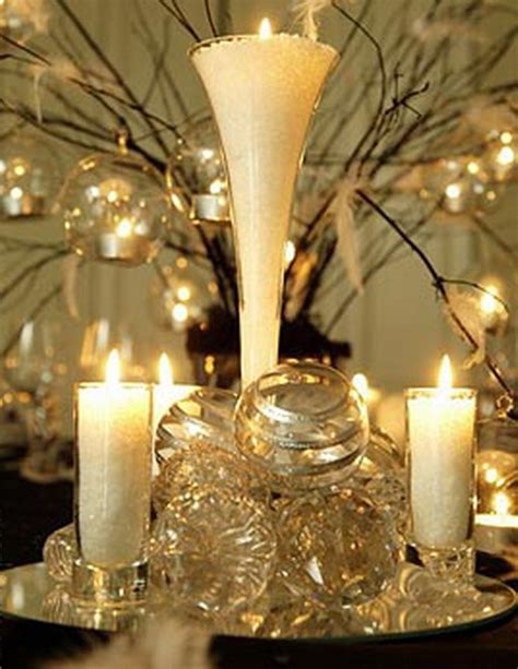 black gold table decoration photograph holiday decoration