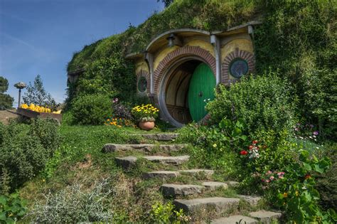 Earth Contact House Plans exploring hobbiton and the shire home of frodo baggins