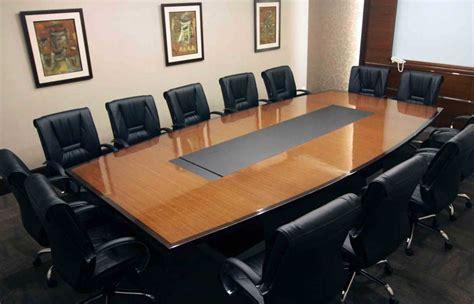 Meja Kantor Biasa bentuk interior harga meja ruang meeting mewah terbaru