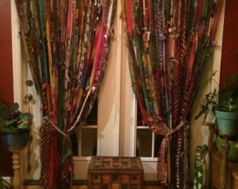 curtains 125 inches long boho curtains etsy