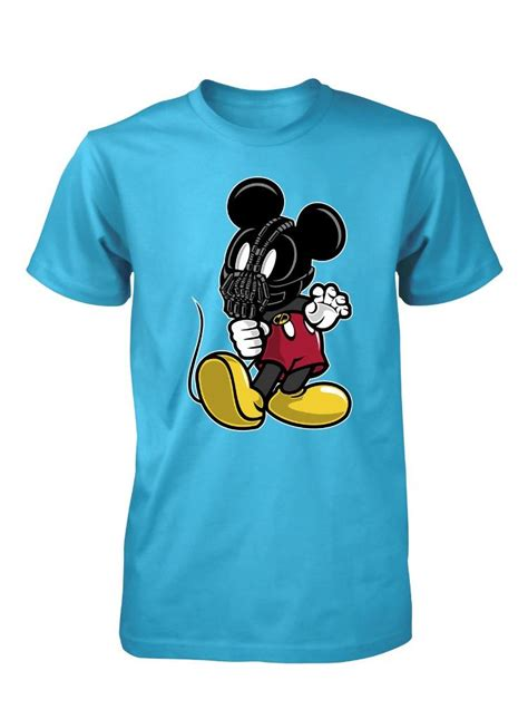 T Shirt Batman Enemy bnwt mickey bane batman enemy mouse mash up t