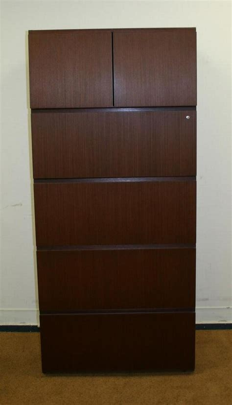 Knoll File Cabinets Knoll Reff Eames Era 4 Drawer Lateral File Cabinet Ebay