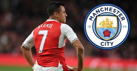alexis sanchez man city arsenal player alexis sanchez pushed closer to 163 50m man
