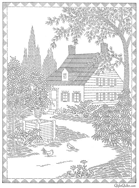 coloring books country cottage backyard gardens 2 40 grayscale coloring pages of country cottages cottages gardens flowers and more books american weekly transfer 3160 cottage 2 q is for quilter
