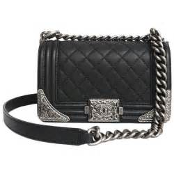 chanel dallas boy flap bag in black quilted