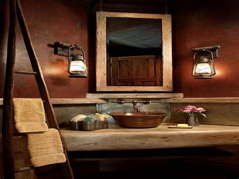 western bathroom decor ideas rustic chic bathroom decor rustic cabin bathroom decor