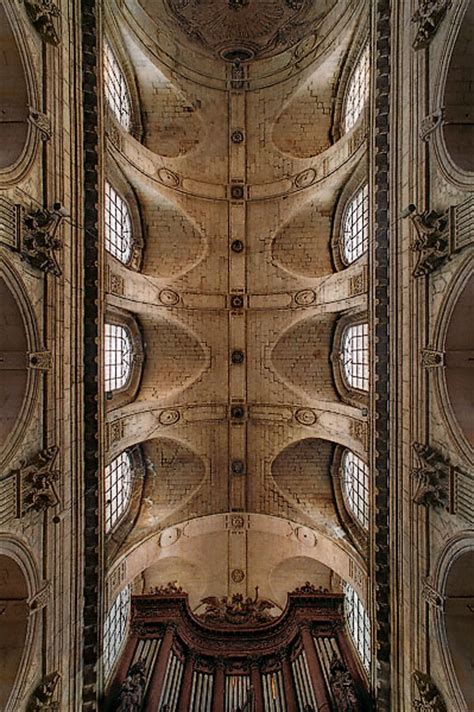 More From Sulspice by Eglise St Sulpice 6 Ceiling