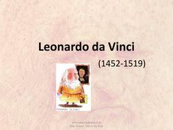 Leonardo Da Vinci Biography By Makemegenius Teaching Resources Tes Leonardo Da Vinci Powerpoint