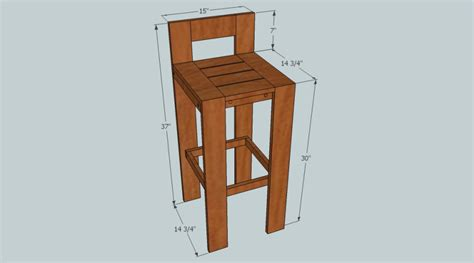 bar stool design p balok guide diy wooden bar stool plans