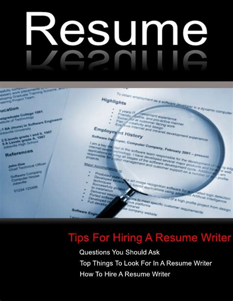 Finding Resumes On Linkedin by New Jersey Resume Tips On Finding The Resume Writer In New