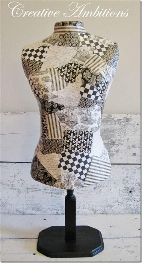decorative dress form mannequin make your own decorative dress form diy someday