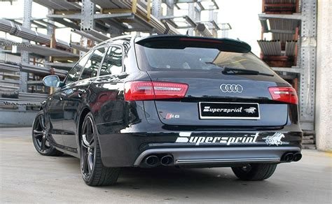 Audi S6 4 0 T by New Abgasanlage F 252 R Audi S6 4 0 T V8 420 Ps 2012 Gt 2013