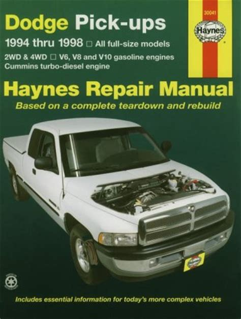 haynes repair manual 1994 1997 ford mustang haynes repair manual 1994 ford ranger