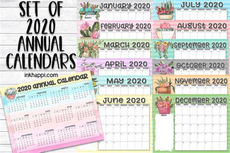 annual calendars   countdown  inkhappi