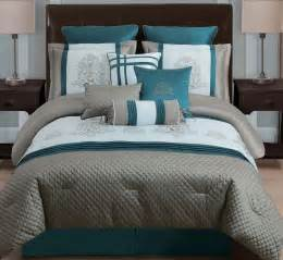 teal comforter sets 10 avalon taupe