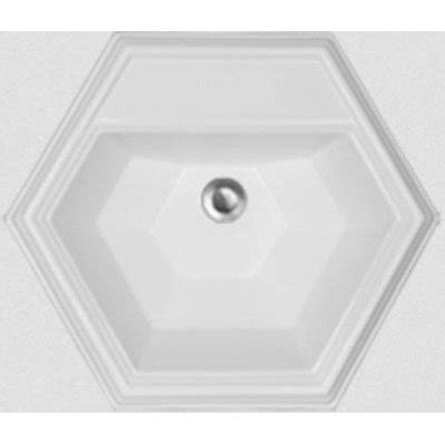 hexagon bathroom sink advantage edgefield self rimming hexagon bathroom sink