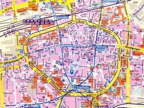 dortmund map of germany dot germany dortmund map 5