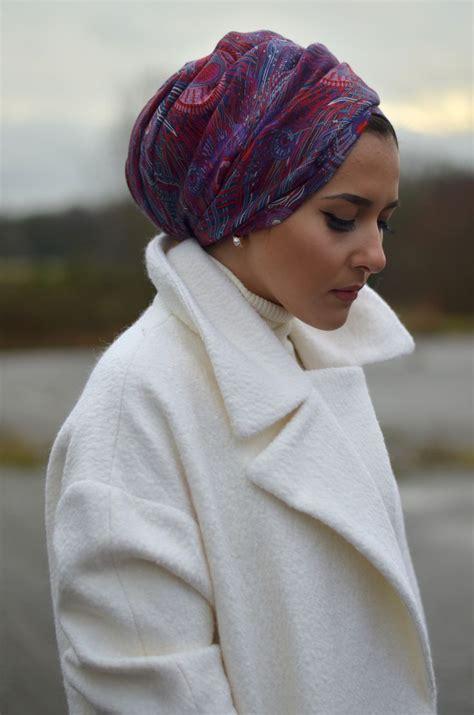 tutorial hijab turban ceruti dsc 1393 hijab outfit pinterest head wraps turban