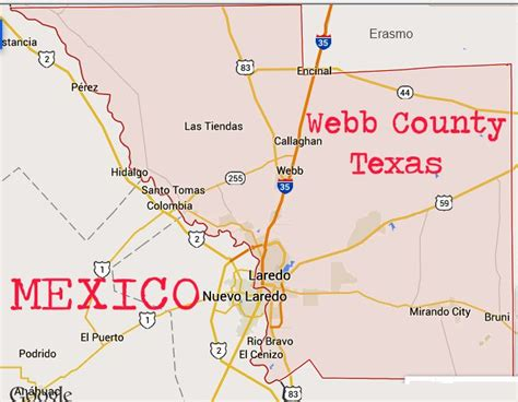 webb county texas map coal mining in las minas