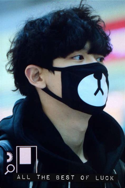 Masker Kpop Masker Rilakuma Chanyeol aliexpress buy anti dust cotton mask fashion kpop exo chanyeol same style