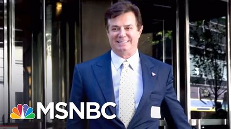 Manafort Search Warrant Fbi Carries Out Search Warrant At Paul Manafort S Home Msnbc