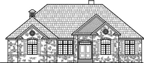cost single story  bedroom house floor plans country