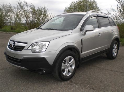 opel antara 2008 2008 opel antara pictures 2 4l gasoline automatic for sale