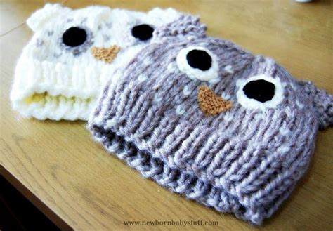 owl baby hat knitting pattern baby knitting patterns pretty column owl hat free