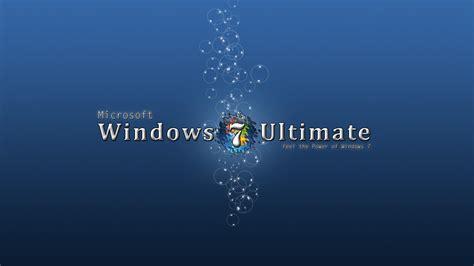 wallpaper background windows 7 ultimate blue windows 7 ultimate hd desktop wallpaper widescreen