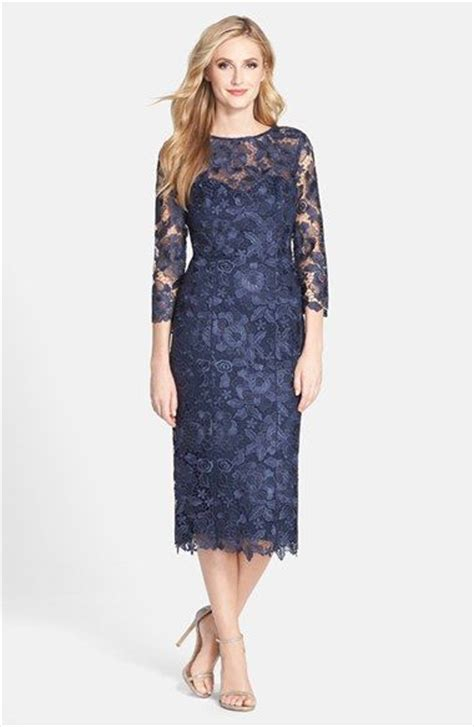 Lace Sheath Midi Dress s js collections cutout lace sheath midi dress