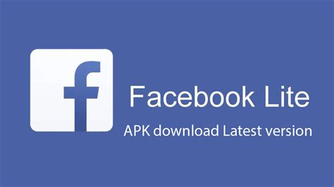 apk versions lite apk 63 0 0 8 158 fb lite app for android