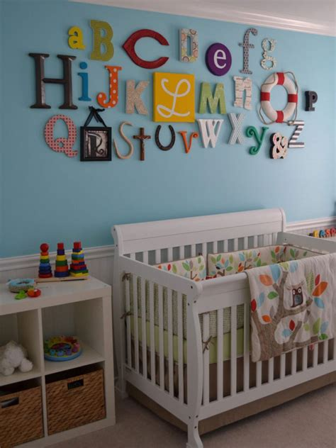 Thrifting And Upcycling For Kids Room Decor Kids Room Alphabet Nursery Decor