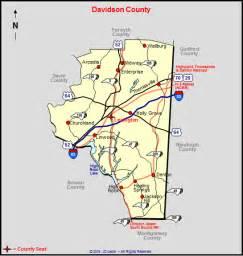 davidson carolina map davidson county carolina