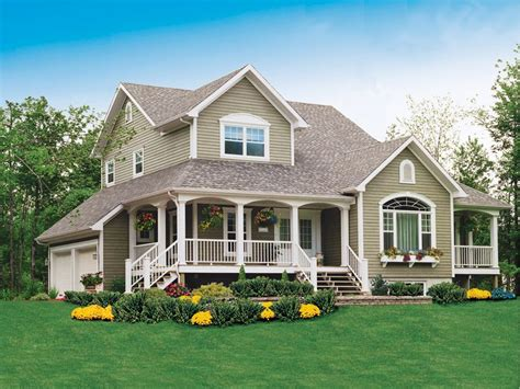 2 Story Country House Plans by Alfred Country Farmhouse Country Farmhouse Country