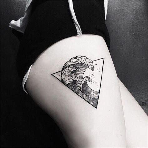 geometric tattoo wave 25 best geometric tattoos ideas on pinterest geometric