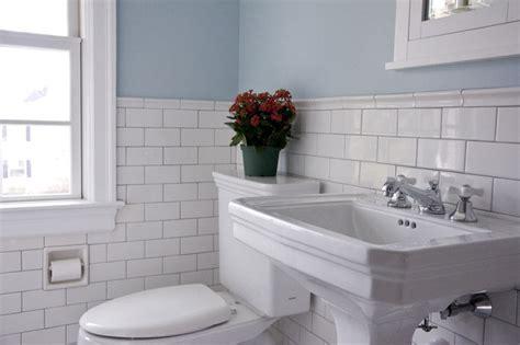 Wainscoting Tile Bathroom by Vintage Bathroom Traditional Bathroom Philadelphia